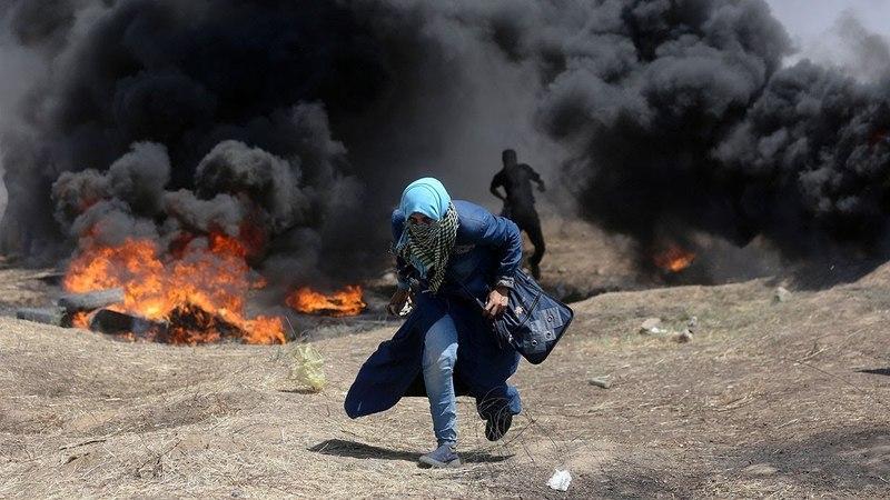 Самая горячая точка планеты: эксклюзивные съемки «Звезды» из сектора Газа