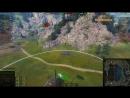 WoT Best Replays AMX 50 Foch B Аж Барабан Вспотел 11000 урона , Ласвилль