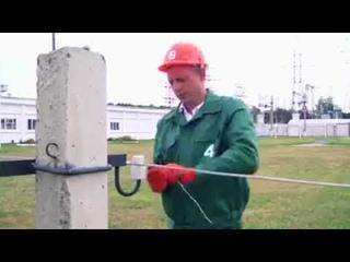 Обучающий фильм как делать вязку на изоляторе ТФ-20