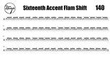 Sixteenth Accent Flam Shift