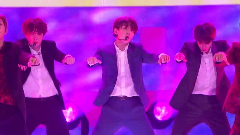 Global Sensation BTS Performs Idol on AGT - Americas Got Talent 2018