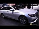 2018 Mercedes E400 4Matic Wagon - Exterior and Interior Walkaround - 2018 Detroit Auto Show