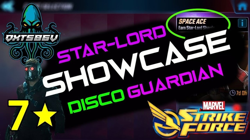 7 Stars Star-Lord Gameplay (Space Ace Event) - Marvel Strike Force - MSF