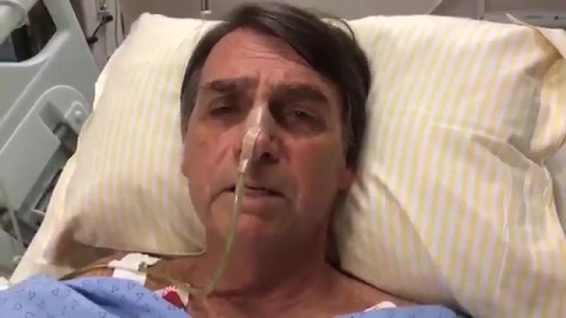 Após atentado Bolsonaro fala ao público pela primeira vez