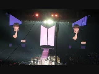 "181020 BTS  - ENDING @ BTS World Tour ""LOVE YOURSELF"" в Париже, Франция, день второй"