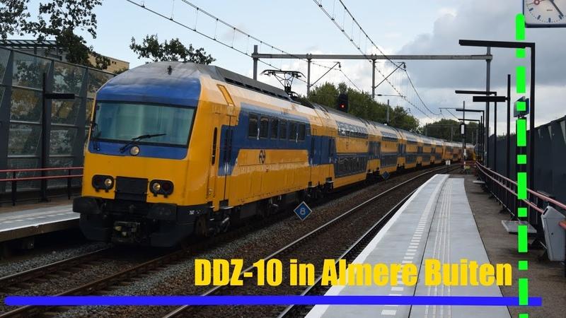 Vertrek VIRM-4 en doorkomst DDZ-10 te Almere Buiten