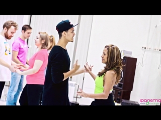 Open Lesson Zouk with Felipe Garcia  Erica Tintel @ Ipanema dance studio