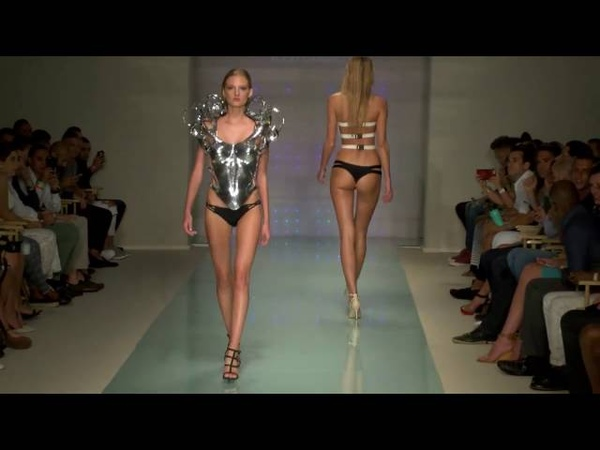Rocky Gathercole at Art Hearts Fashion during Miami Swim Week