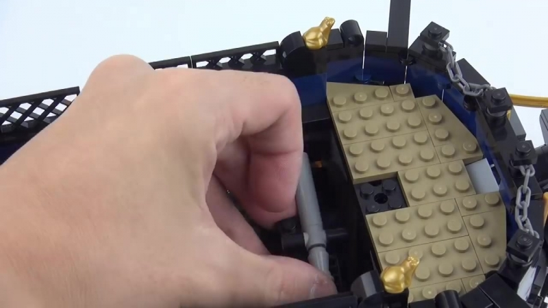 [MOC YOUR BRICKs] Lego pirate ship MOC : La Grenouille , The Bluecoat Frigate. Speed Build