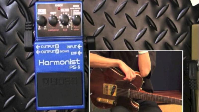 【試奏動画】BOSS PS-6 Harmonist【BOSS COMPACT PEDAL 100th ANNIVERSARY!!】