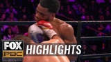 Lamont Peterson retires in the ring after loss to Sergey Lipinets HIGHLIGHTS PBC ON FOX