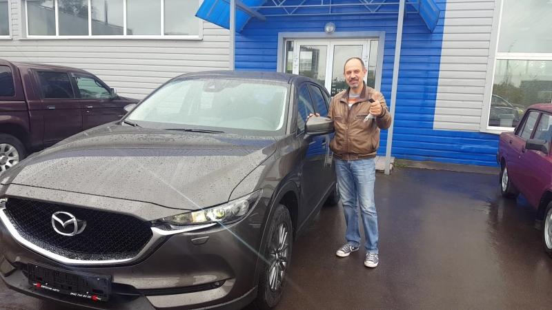 Выдача Mazda CX-5 По словам нашего клиента, получилось купить у нас на Чудской выгоднее чем в Питере на 150 000руб.