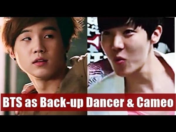 PREDEBUT BTS as BACK UP DANCER MV CAMEO
