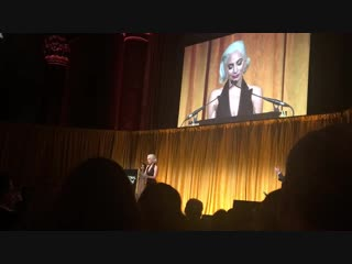 Речь Леди Гаги на церемонии