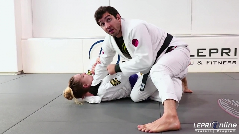 Lucas Lepri - Half Guard Escape to Lapel Cross Choke Attempt to Back Take when Opponent Defend