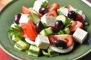 Классический греческий салат(Horiatiki)