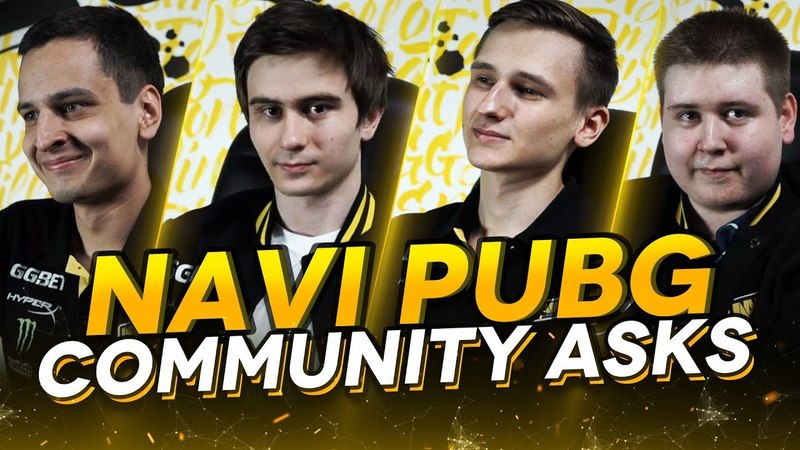 NAVI PUBG Community Asks