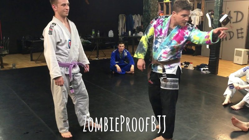 Hit A Takedown With This Guard Pull