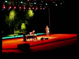 John Zorn & Fred Frith @Gulbenkian Anfiteatro 3.08.2008 part 2