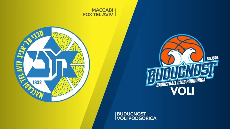 Maccabi FOX Tel Aviv - Buducnost VOLI Podgorica Highlights | Turkish Airlines EuroLeague RS Round 17