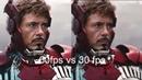 60FPS vs. 30FPS vs. 15FPS Movie Scenes Comparison (Watch in HD)
