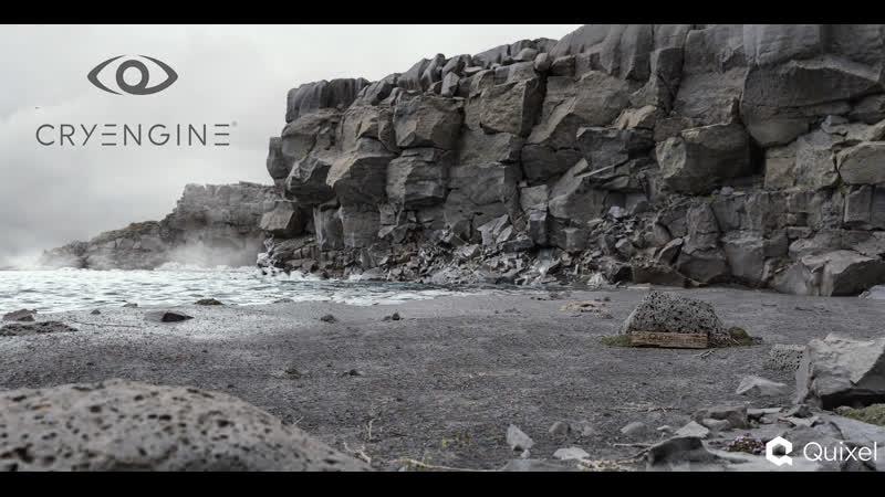 готика 1 [локация Ксардаса часть 5] Level Designe on Cryengine Quixel