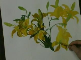 С.Н.Андрияка - Мастер-класс по акварельной живописи Draw_the_correct (Рисунки, как правильно нарисовать)