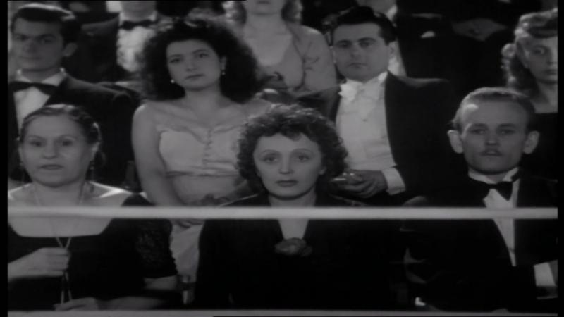Edith Piaf Adieu mon cоеur Поёт за кадром Эдит Пиаф Песня с Х Ф Звезда без света Etoile sans lumiere 1946