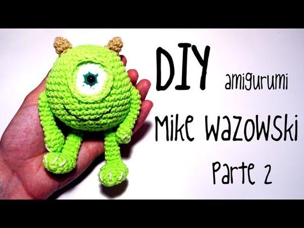 DIY Mike Wazowski Parte 2 amigurumi crochet/ganchillo (tutorial)
