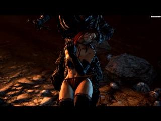 ГУРО Desert Sorceress A (Dark Souls sex)