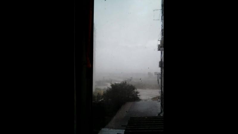 Ужасный ливень в Фео