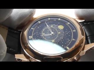 Портмоне «MONTBLANC» + ПОДАРОК Часы «PATEK PHILIPPE SKY MOON TOURBILLON»
