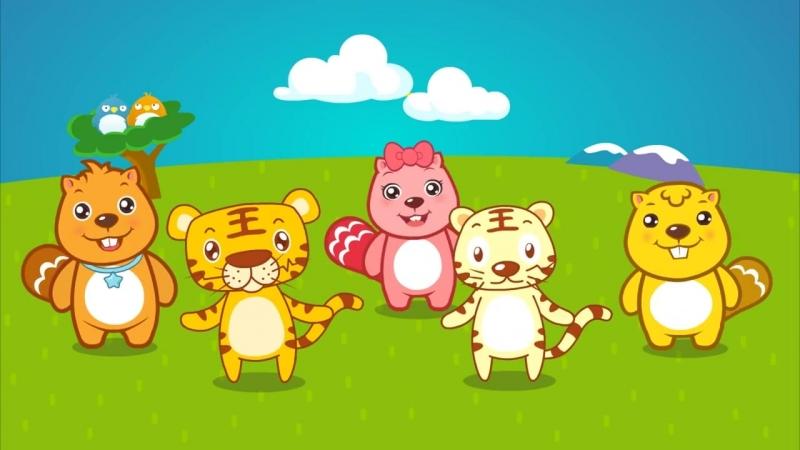 贝瓦儿歌《两只老虎》