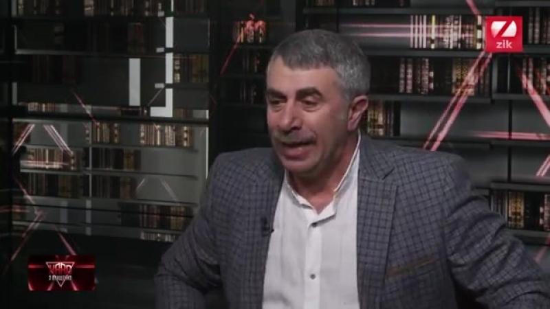 Євген Комаровський, лікар-педіатр, у програмі HARD з Влащенко
