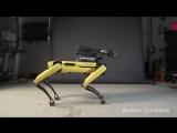 Танцующий робот Boston Dynamics