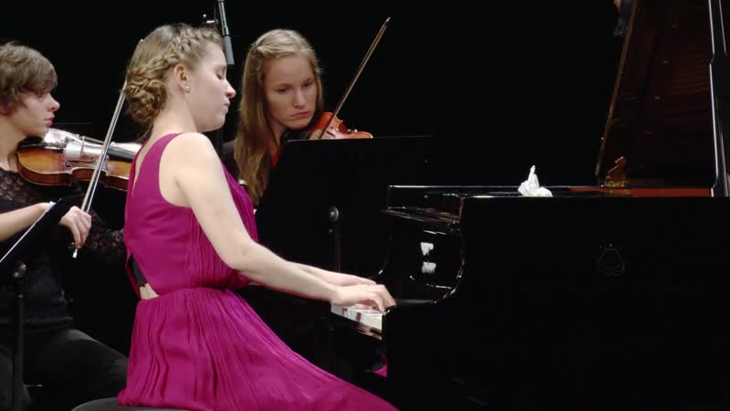 1055 J. S. Bach - Harpsichord Concerto No.4 in A major, BWV 1055 - Franz Liszt Music Academy [Salamon Kamp] Kinga Krizsán, piano