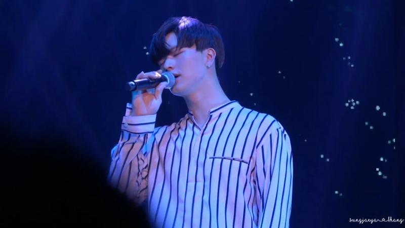[FANCAM] 19.05.2018: Сончжэ - Who Are You (Goblin OST) @ Solo Fan Meeting in Hong Kong