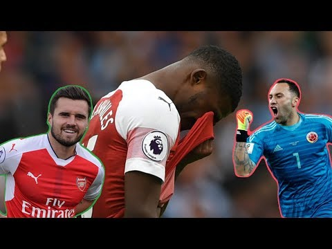 Ainsley Maitland-Niles Carl Jenkinson Injured And Ospina Move To Napoli | DGT S3 EP4