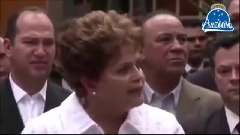 Dilma explica o resultado das oitavas da libertadores
