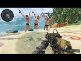 Русский Мясник Девчонки Я ИДУ ! Call of Duty  Black Ops 4 (beta)