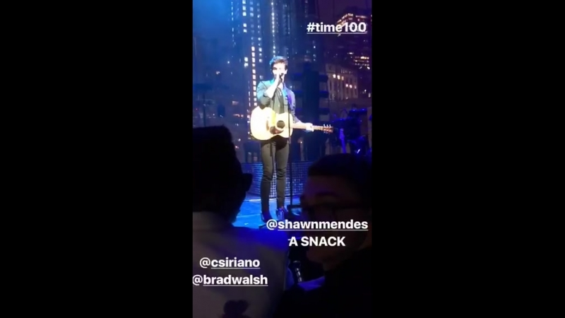 Shawn Mendes - There's Nothing Holdin' Me Back: 2018 Time 100 Gala, Apr 24, 2018, NYC