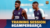 Preparing for the Joan Gamper Trophy Game