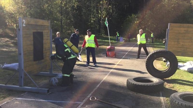 Соревнования Не всякий пожарный