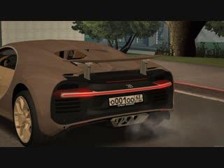 Система спойлеров. (Bugatti Chiron)