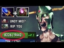 OMG 9500 HP New Style Mid Undying Toying Invoker by Papita 3s Decay Fun 7.20 Dota 2