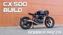 Cafe Racer Timelapse Build - Honda CX 500 Bobber Racer
