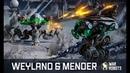 HEALING War Robots 🔥 WEYLAND MENDER in WR update 4 0 new healing robots