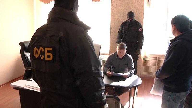 Задержание замначальника МО МВД России «Белогорский»
