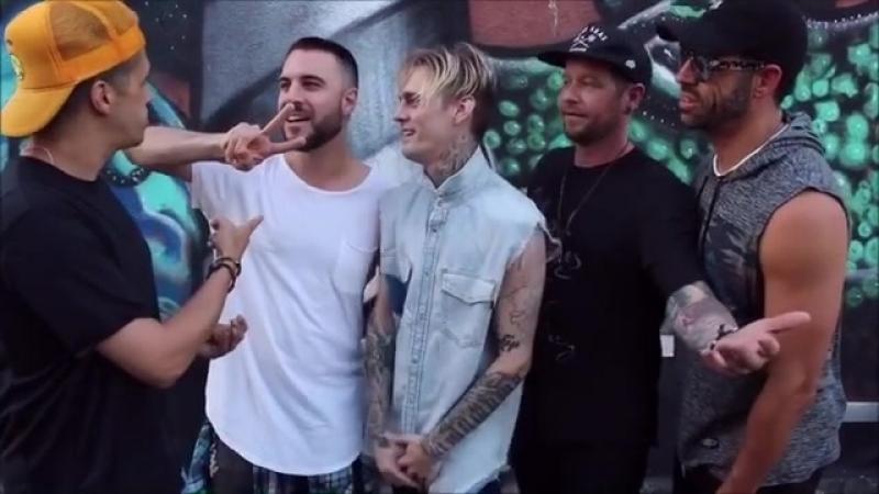 Видео анонс концертного тура группы O Town совместно с Аароном Картером The pop 2000