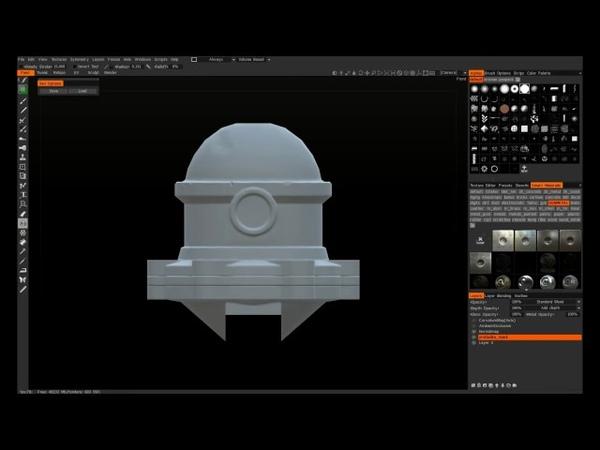 3D Coat speed painting tutorial :)